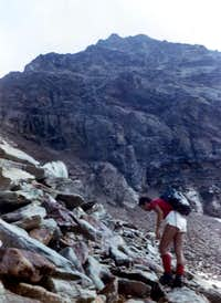 GARIN PEAK South Summit by <b><font color=red>S Wall </font></b>(3480m) on 1973