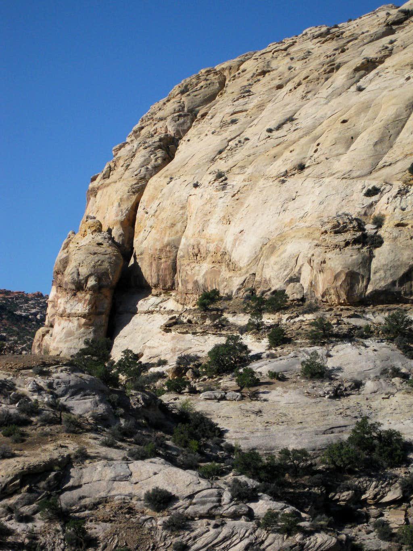 Pectols Pyramid-- Chimney on SE Face