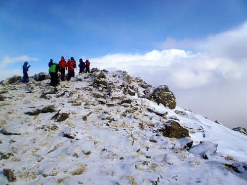 Team on the Summit