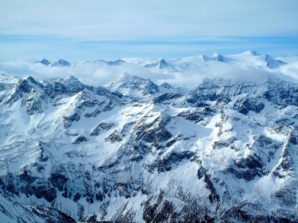 The Granatspitzgruppe And Venediger Mountain Ranges