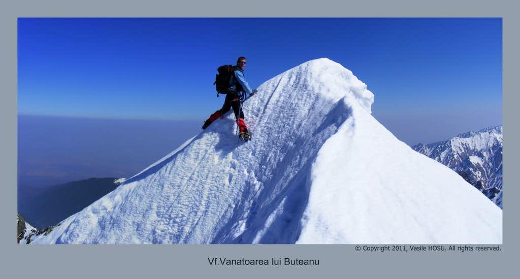Vanatoarea lui Buteanu peak, Fagaras mt., Romnia