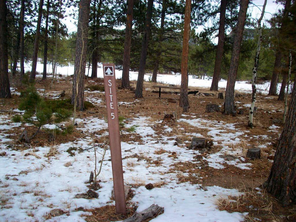 Campsite #5-Mount Margaret