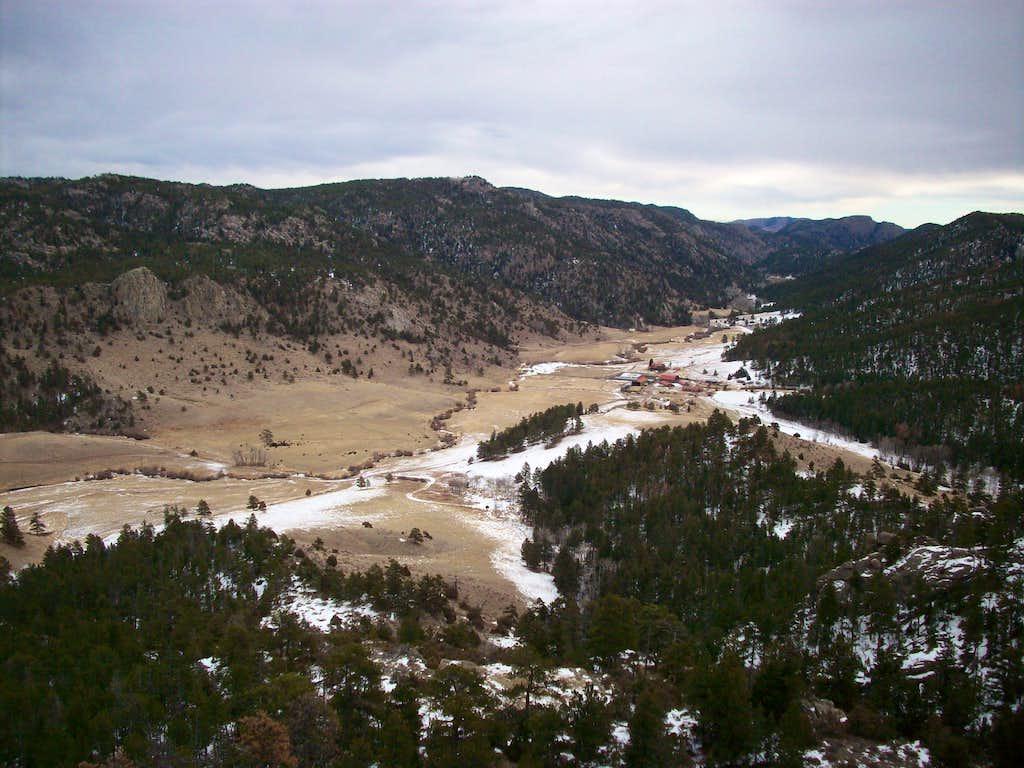 Maxwell Ranch below Mount Margaret