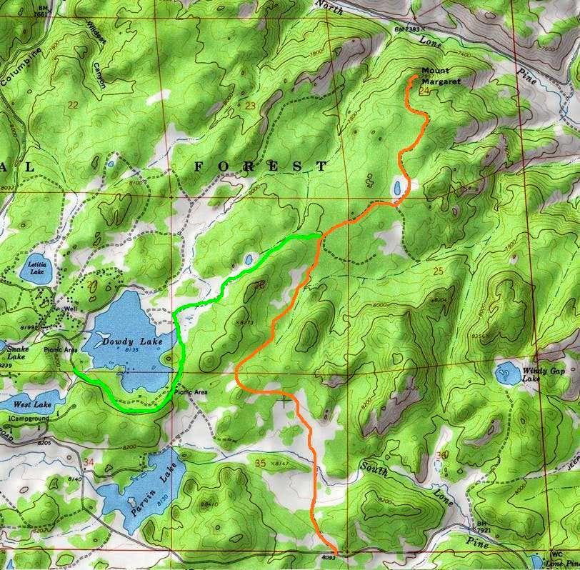 Mount Margaret Routes