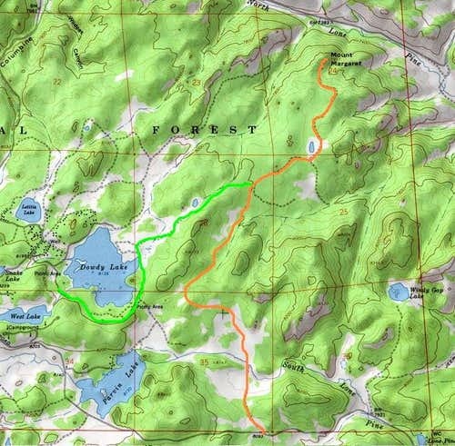 Mount Margaret Routes