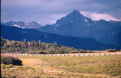 Mount Sneffels from the north