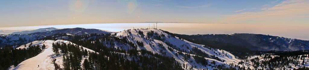 Boise Inversion from Shafer Butte