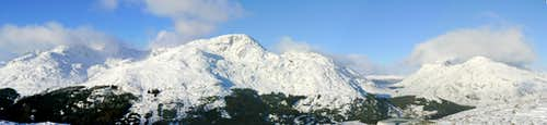 Arrochar Alps Panorama