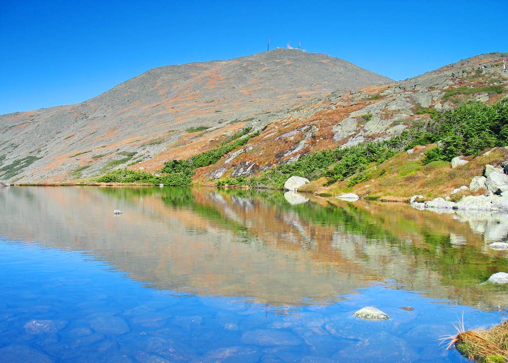 Mt. Washington in a Lake