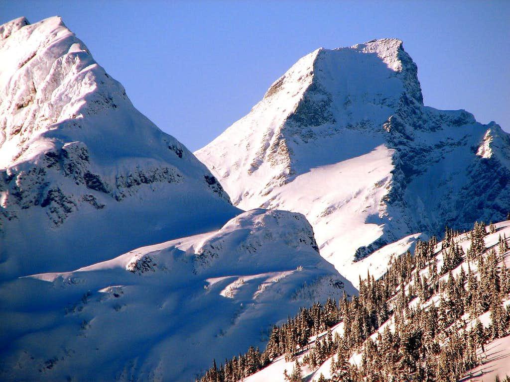 Elephant Butte and Luna Peak