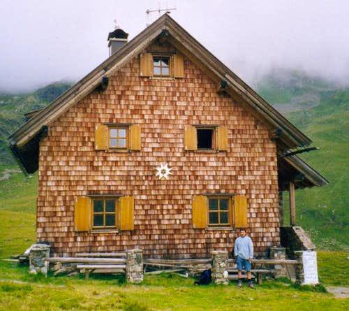 The Feldnerhütte, the most...