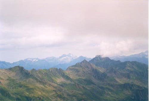 Summit view toward Polinik...