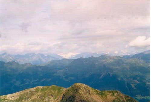 Summit view toward the hart...