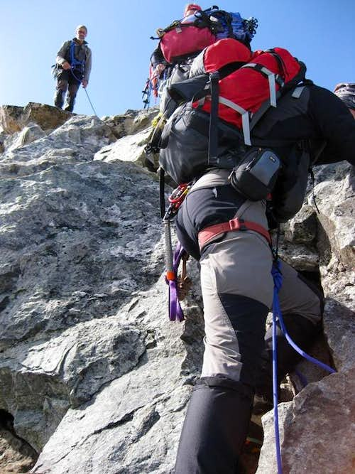 Scrambling on Cresta d\'Arlas