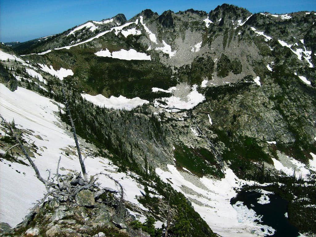 Fenn Mountain in late July