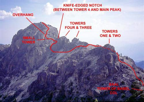 Tower of Babel South Ridge Route