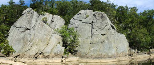 Downstream Crags