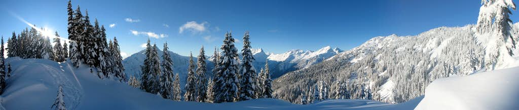 Stetattle Ridge Panorama