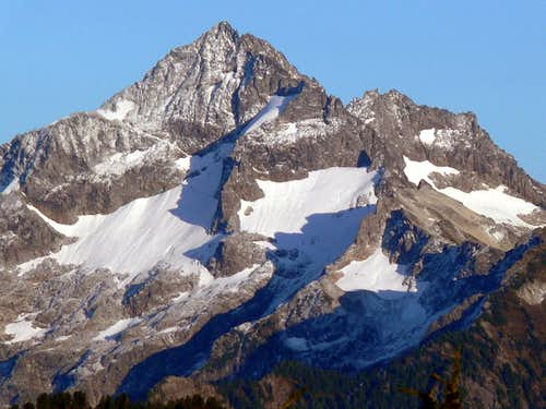 Mount Formidable West Face