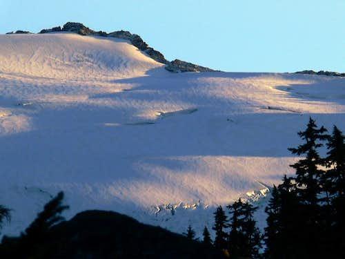 The top of Snowqueen