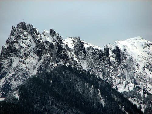 Edge of Gunn Peak
