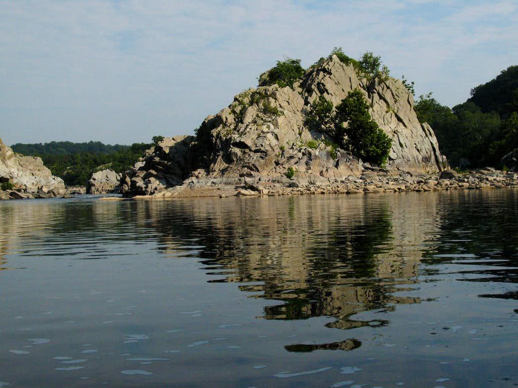 Rocky Island Reflected