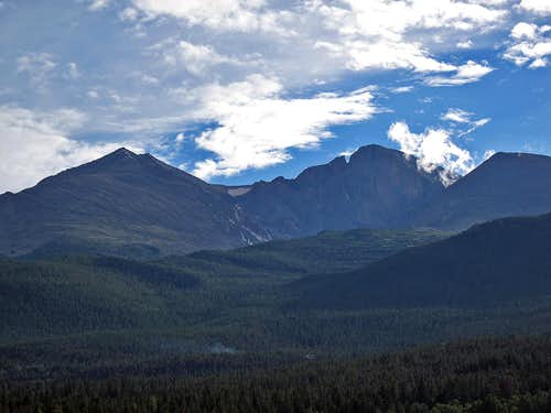 Longs Peak and Mt. Meeker