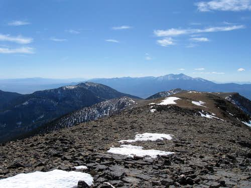 Mt. Wheeler to the south