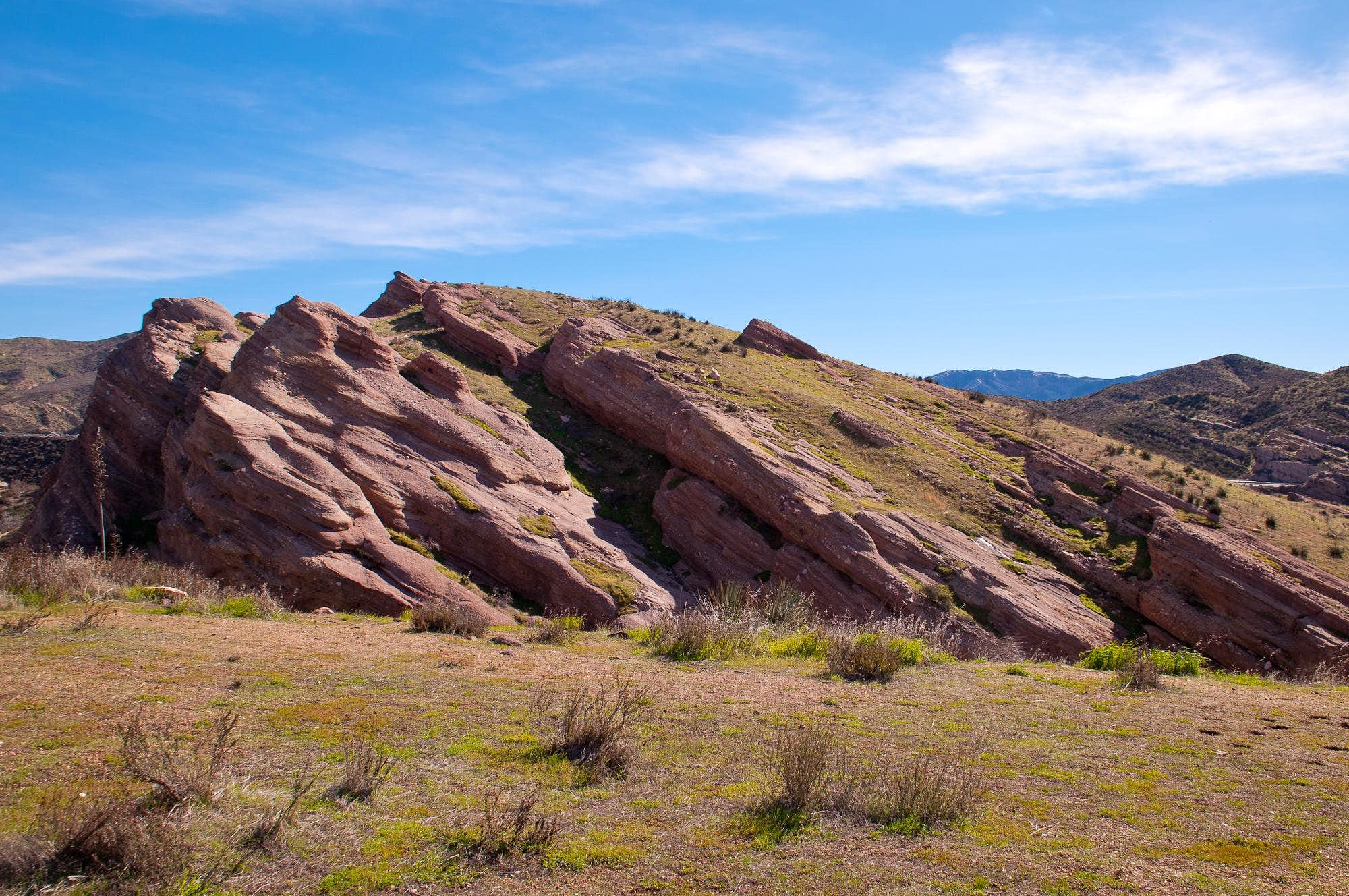 Vasquez Rocks Loop