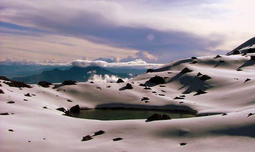 Mountain pond.