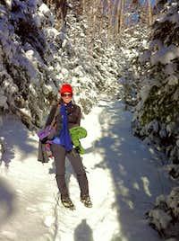 Mt Carrigain NH 4,700 feet  1/17/11