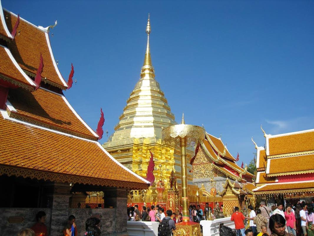 Wat Phra That Doi Suthep : Photos, Diagrams & Topos ...