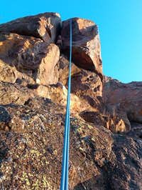 Turkey Peak Rappel