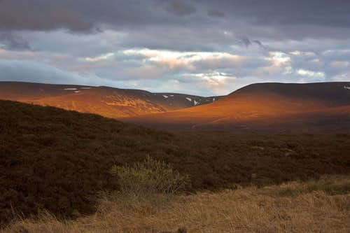 Scottish impressions - Evening lights of Drumochter