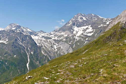 Hohe Weisse, Eisjöchl and Hohe Wilde