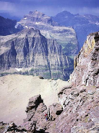 Pollock Mountain, Great Cleft Route