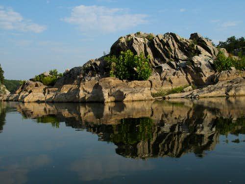 Riverside Crag Reflection