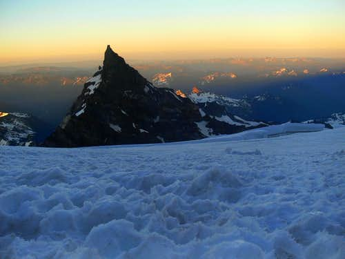 Little Tahoma during Sunset