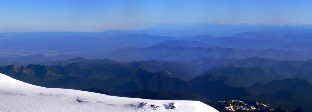 Blue Ridges from the Summit