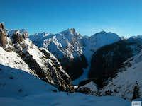 Monte Ferrara and cima Sboada