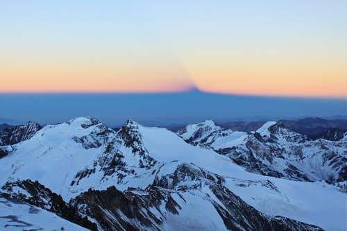 Shadow of Aconcagua