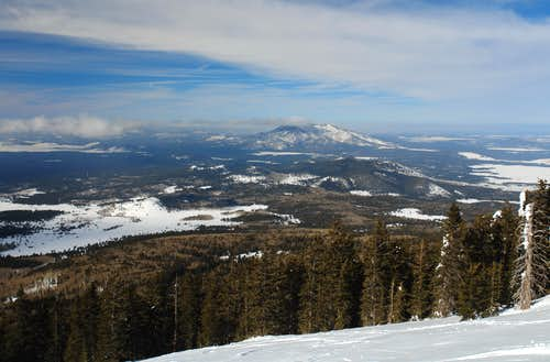 West Slopes of Humphreys Peak: view NW