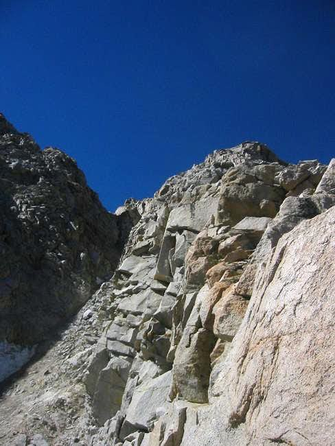 On the NE Buttress (Sep 11,...