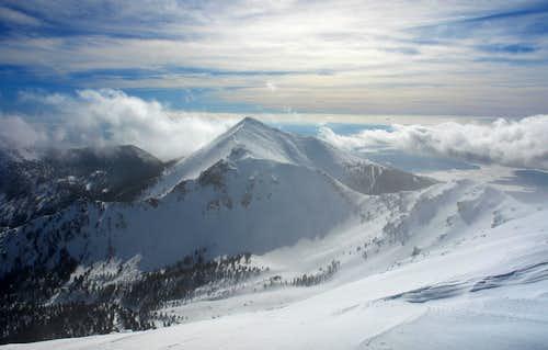 Humphreys Peak: summit view south
