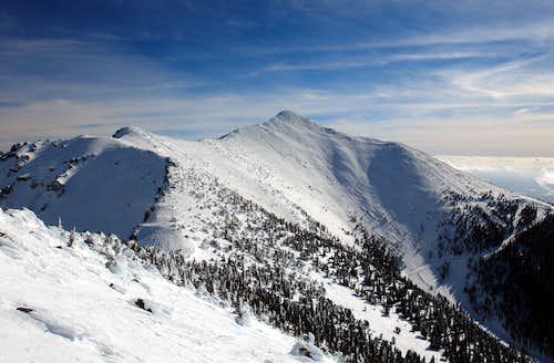 Agassiz Peak from UN 12,098