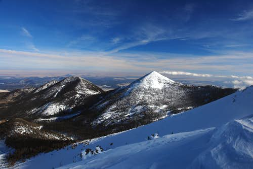Fremont and Doyle Peaks
