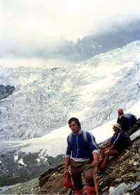Valpelline s Head (3796m) & Tsa de Tsan Glacier on 1976