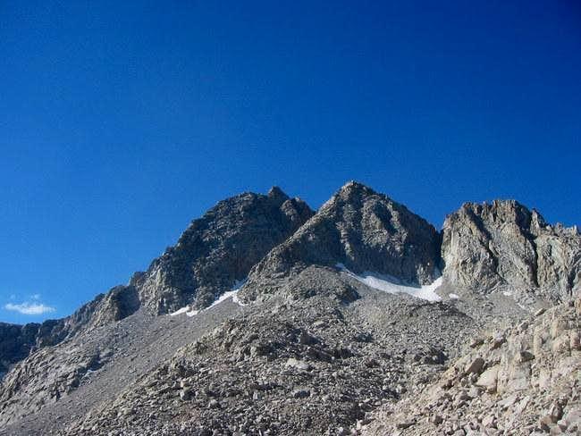 Deerhorn Mountain on the...