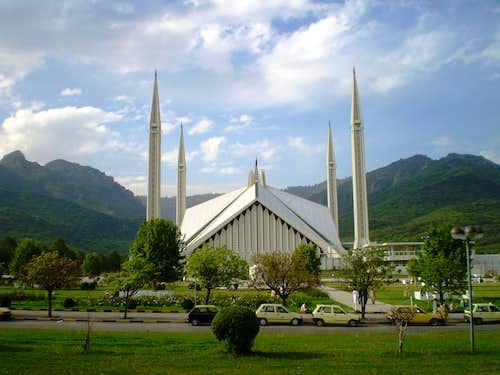 Faisal Mosque, Pakistan