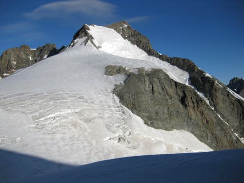 A last look back at Piz Bernina